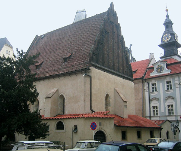 """בית הכנסת של המהר""""ל בפראג"""
