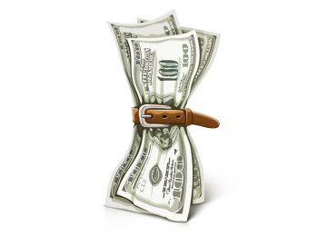להדק חגורה על חשבון הנברשת
