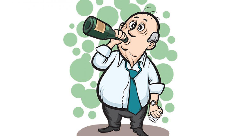 משלי הבן איש חי: שיכור כלוט