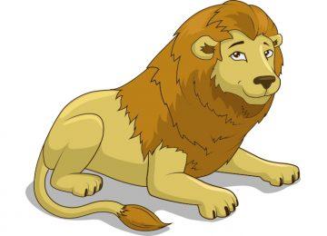 ציור אריה