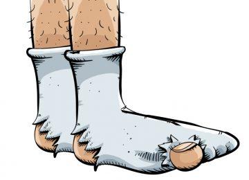 גרביים מסריחות
