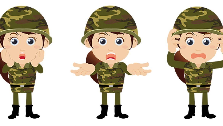 החייל המודאג – פתרון